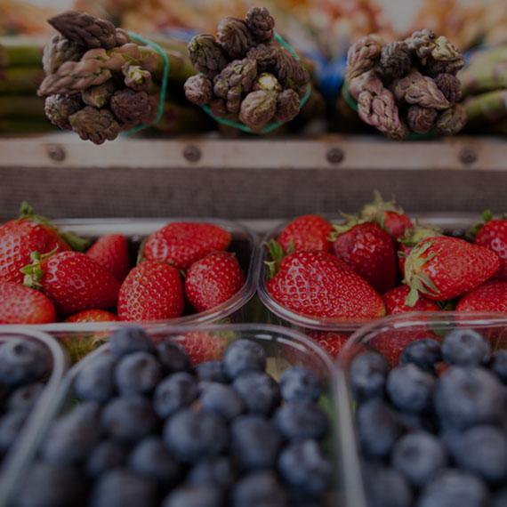 Spargel, Erdbeeren und Heidelbeeren im Selfkant